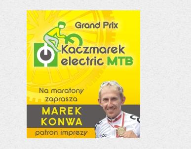Patron imprezy Marek Konwa