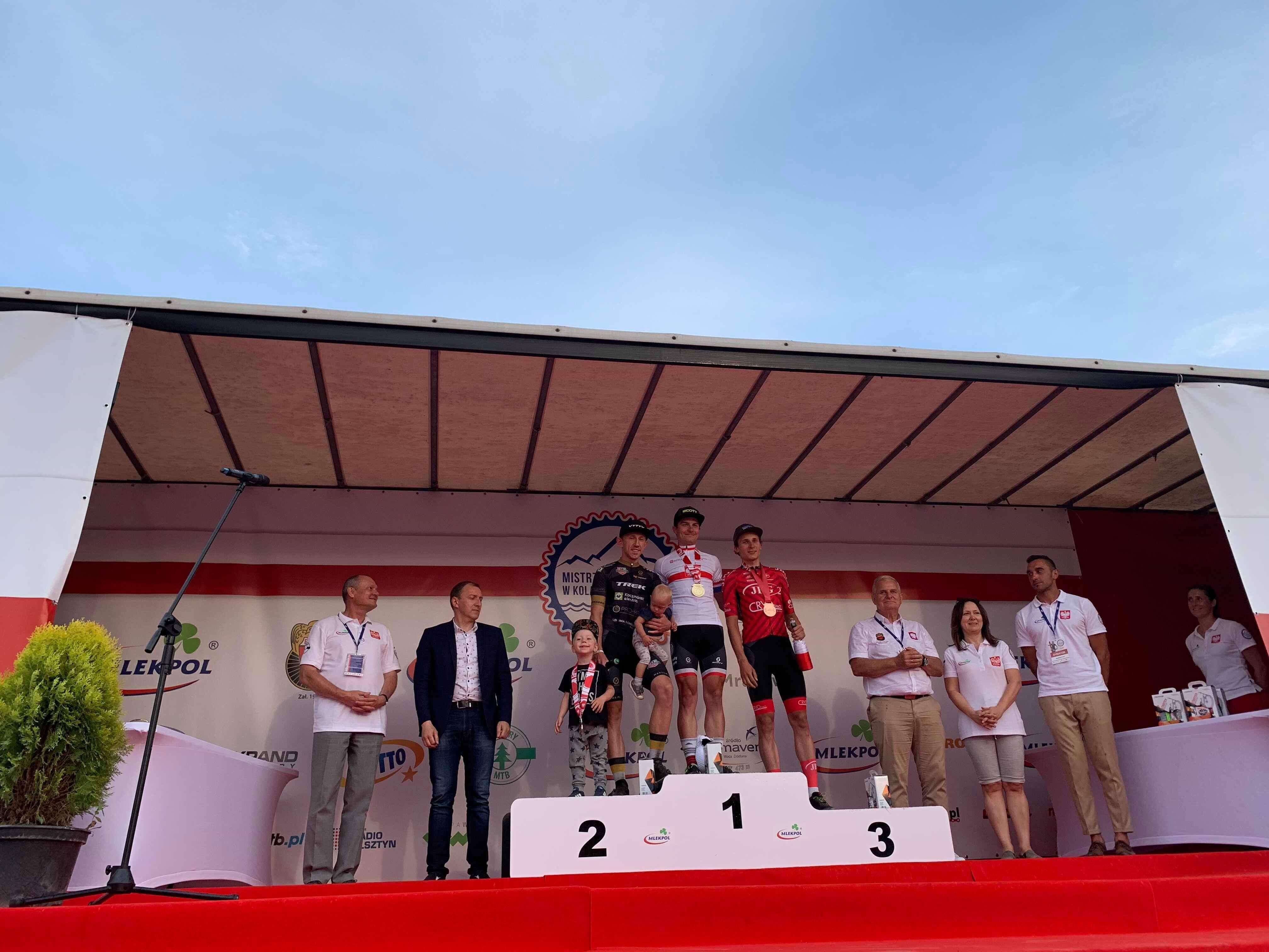 Mistrzostwa Polski MTB Mrągowo Tomek Ferenc